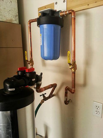 Whole House Water Filtration System Installation with Sun City Mechanical in Arizona